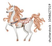 Watercolor Unicorn Illustratio...