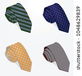 ties set. vector illustration | Shutterstock .eps vector #1048629839