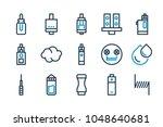 vape stuff and equipment... | Shutterstock .eps vector #1048640681