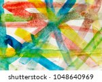 abstract paint colored brush...   Shutterstock . vector #1048640969