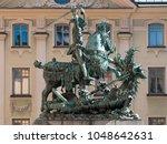 Historic Statue Of Saint Georg...