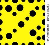 circles scatter glitter... | Shutterstock .eps vector #1048645367