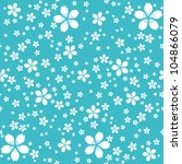 floral seamless background | Shutterstock .eps vector #104866079