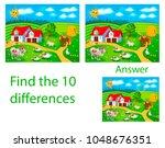 children's illustration visual... | Shutterstock .eps vector #1048676351