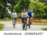 healthy lifestyle   people... | Shutterstock . vector #1048696457
