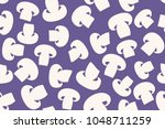seamless pattern of the... | Shutterstock .eps vector #1048711259