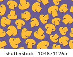 seamless pattern of the... | Shutterstock .eps vector #1048711265