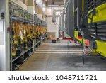 firestation interior with... | Shutterstock . vector #1048711721