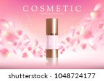 design cosmetics product... | Shutterstock .eps vector #1048724177