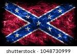 confederate flag  navy jack... | Shutterstock . vector #1048730999