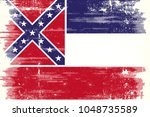 the flag of the state of... | Shutterstock .eps vector #1048735589