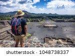 Teotihuacan  Mexico.  A Touris...