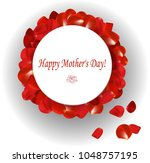 gift card  happy mother's day | Shutterstock .eps vector #1048757195
