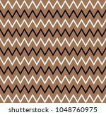 horizontal gold zigzag stripes... | Shutterstock .eps vector #1048760975