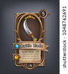 card of fantasy battle blade...