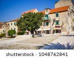 makarska croatia 19 july  2017  ... | Shutterstock . vector #1048762841
