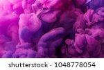 ink in water background | Shutterstock . vector #1048778054