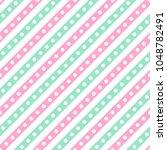 cute seamless vector pattern... | Shutterstock .eps vector #1048782491