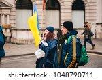 london   uk   03 17 2017 ... | Shutterstock . vector #1048790711