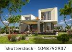 3d rendering of modern cozy... | Shutterstock . vector #1048792937
