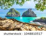 fernando de noronha  brazil.... | Shutterstock . vector #1048810517