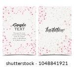 vector illustration romantic... | Shutterstock .eps vector #1048841921
