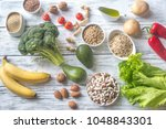 food for thrive diet | Shutterstock . vector #1048843301