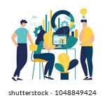vector creative illustration of ... | Shutterstock .eps vector #1048849424
