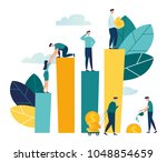 vector creative illustration of ... | Shutterstock .eps vector #1048854659