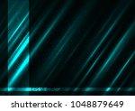 cold shine blue color dark... | Shutterstock .eps vector #1048879649