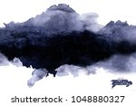 ink painting. ink stains ...   Shutterstock . vector #1048880327
