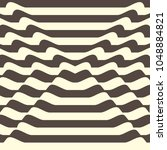 stripped background with brown... | Shutterstock .eps vector #1048884821