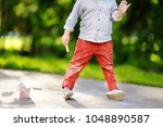 close up photo of little kid... | Shutterstock . vector #1048890587
