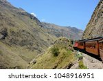 excursion by train to the nose... | Shutterstock . vector #1048916951