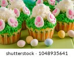 Easter Bunny Butt Cupcakes Mad...