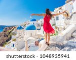 europe travel vacation fun... | Shutterstock . vector #1048935941