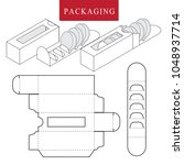 package for bakery.vector... | Shutterstock .eps vector #1048937714