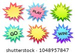 set of paper style vector...   Shutterstock .eps vector #1048957847