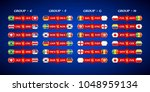 football matches between teams... | Shutterstock .eps vector #1048959134