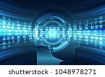 artificial intelligence. ai... | Shutterstock .eps vector #1048978271