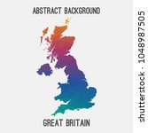 united kingdom great britain uk ... | Shutterstock .eps vector #1048987505