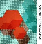 book cover background design.... | Shutterstock .eps vector #104898827