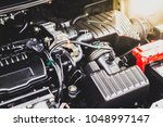 engine maintenance for... | Shutterstock . vector #1048997147