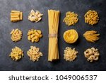 Various Pasta. Cooking Concept...