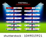 football championship match... | Shutterstock .eps vector #1049015921