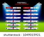 football championship match...   Shutterstock .eps vector #1049015921