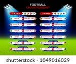 football championship match... | Shutterstock .eps vector #1049016029