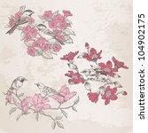 Retro Illustrations   Flowers...