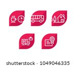 various icons. set of icons. 5... | Shutterstock .eps vector #1049046335