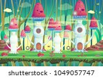 background for games and mobile ...   Shutterstock .eps vector #1049057747